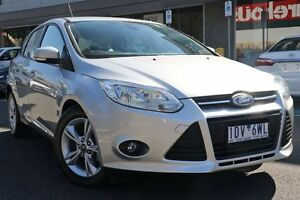 2014 Ford Focus LW MKII Trend PwrShift Silver 6 Speed Sports Automatic Dual Clutch Hatchback Mill Park Whittlesea Area Preview