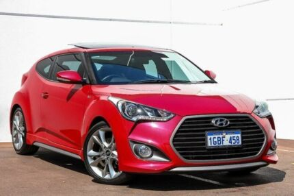 2016 Hyundai Veloster FS4 Series II SR Coupe D-CT Turbo + Red 7 Speed Sports Automatic Dual Clutch Maddington Gosnells Area Preview