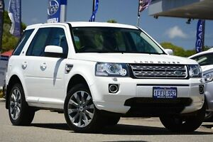2013 Land Rover Freelander 2 LF MY14 SD4 CommandShift SE White 6 Speed Sports Automatic Wagon Willagee Melville Area Preview