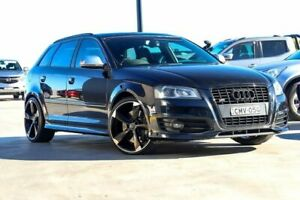 2009 Audi S3 8P MY10 Sportback S Tronic Quattro Black 6 Speed Sports Automatic Dual Clutch Hatchback Liverpool Liverpool Area Preview