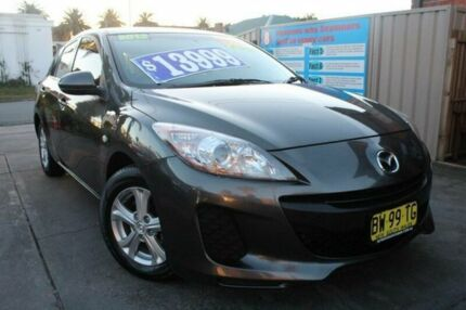 2012 Mazda 3 BL 11 Upgrade Neo Grey 5 Speed Automatic Hatchback