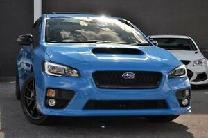2015 Subaru WRX V1 MY16 Hyper Blue Lineartronic AWD Blue 8 Speed Constant Variable Sedan Burwood Whitehorse Area Preview