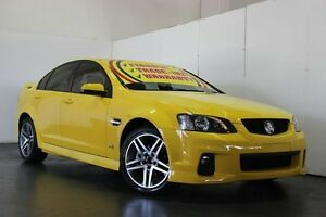 2011 Holden Commodore VE II SV6 Yellow 6 Speed Manual Sedan Underwood Logan Area Preview