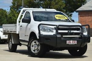 2015 Holden Colorado RG MY15 DX White 6 Speed Manual Cab Chassis Toowoomba Toowoomba City Preview