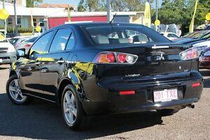 2014 Mitsubishi Lancer CJ MY14.5 LX Black 6 Speed Constant Variable Sedan Chermside Brisbane North East Preview