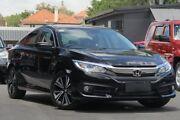 2017 Honda Civic 10th Gen MY17 VTi-L Black 1 Speed Constant Variable Sedan Nundah Brisbane North East Preview