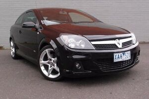 2009 Holden Astra AH MY09 SRI Turbo Black 6 Speed Manual Coupe South Melbourne Port Phillip Preview