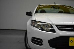 2012 Ford Falcon FG MkII Ute Super Cab White 6 Speed Sports Automatic Utility