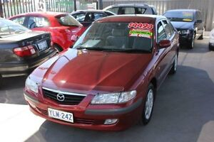 2002 Mazda 626 Classic Red 4 Speed Automatic Hatchback Mitchell Gungahlin Area Preview