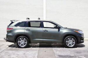 2014 Toyota Kluger GSU55R Grande AWD Green 6 Speed Sports Automatic Wagon