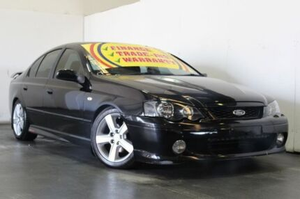 2004 Ford Falcon BA XR8 Black 4 Speed Auto Seq Sportshift Sedan Underwood Logan Area Preview