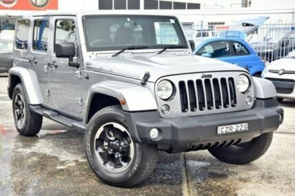 2014 Jeep Wrangler JK MY2014 Unlimited Billet Silver Automatic Hardtop Gosford Gosford Area Preview