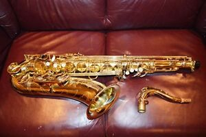 Selmer Paris Super Action Series III tenor saxophone