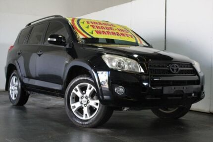 2010 Toyota RAV4 ACA33R 08 Upgrade Cruiser (4x4) Black 5 Speed Manual Wagon Underwood Logan Area Preview