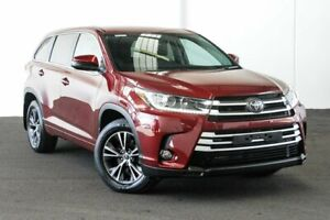 2018 Toyota Kluger GSU50R GX 2WD Merlot Red 8 Speed Sports Automatic Wagon Myaree Melville Area Preview