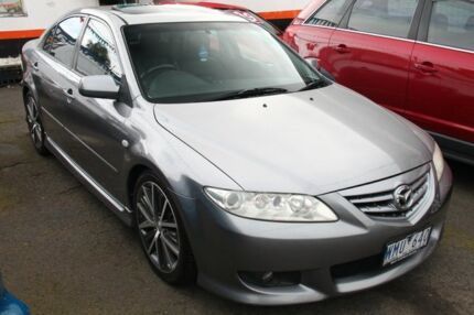 2005 Mazda 6 GG 05 Upgrade Luxury Sports Silver Metallic 5 Speed Auto Activematic Hatchback Briar Hill Banyule Area Preview