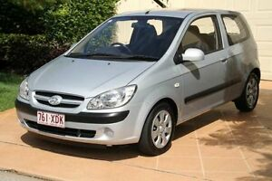 2007 Hyundai Getz TB MY07 Click Silver 5 Speed Manual Hatchback Bundall Gold Coast City Preview