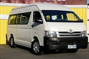 2008 Toyota Hiace KDH223R MY08 Commuter High Roof Super LWB White 4 Speed Automatic Bus Ferntree Gully Knox Area Preview