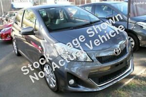 2013 Toyota Yaris NCP131R ZR Grey 5 Speed Manual Hatchback Wyong Wyong Area Preview