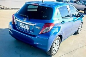 2013 Toyota Yaris NCP131R YRS Blue 4 Speed Automatic Hatchback Pakenham Cardinia Area Preview