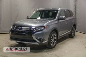 2017 Mitsubishi Outlander ES ALL WHEEL CONTROL 3RD ROW SEATING,