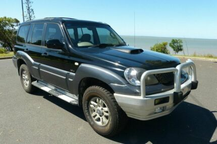 2005 Hyundai Terracan HP MY05 Black 5 Speed Manual Wagon South Gladstone Gladstone City Preview