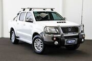 2014 Toyota Hilux KUN26R MY14 SR5 Double Cab White 5 Speed Automatic Utility Rockingham Rockingham Area Preview