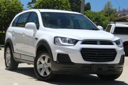 2017 Holden Captiva CG MY17 LS 2WD White 6 Speed Sports Automatic Wagon East Toowoomba Toowoomba City Preview
