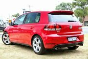 2010 Volkswagen Golf VI MY10 GTI DSG Red 6 Speed Sports Automatic Dual Clutch Hatchback Victoria Park Victoria Park Area Preview