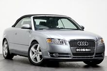 2006 Audi A4 B7 MY06 Multitronic Silver 7 Speed Constant Variable Cabriolet Rozelle Leichhardt Area Preview