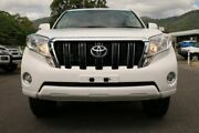 2016 Toyota Landcruiser Prado GDJ150R GXL White 6 Speed Sports Automatic Wagon Earlville Cairns City Preview