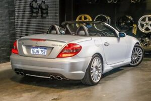 2005 Mercedes-Benz SLK55 R171 Silver 7 Speed Automatic Roadster