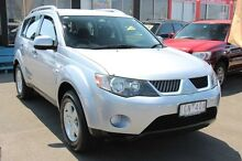 2008 Mitsubishi Outlander ZG MY08 LS Silver 6 Speed Constant Variable Wagon Heatherton Kingston Area Preview