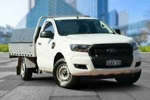 2015 Ford Ranger PX MkII XL 4x2 White 6 Speed Manual Cab Chassis Myaree Melville Area Preview