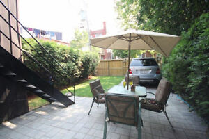 Dog Friendly 4 1/2 with HUGE fenced-in garden and SS appliances