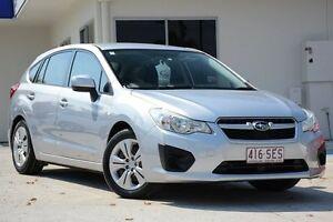2012 Subaru Impreza G4 MY12 2.0i AWD Silver 6 Speed Manual Hatchback Moorooka Brisbane South West Preview