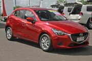 2018 Mazda 2 DJ2HAA Maxx SKYACTIV-Drive Red 6 Speed Sports Automatic Hatchback Monkland Gympie Area Preview
