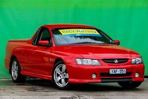 2003 Holden Ute VY SS Red 6 Speed Manual Utility Ringwood East Maroondah Area Preview