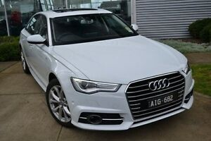 2016 Audi A6 4G MY16 S Line S tronic White 7 Speed Sports Automatic Dual Clutch Sedan Burwood Whitehorse Area Preview