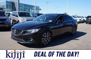 2014 Mazda Mazda6 GT Accident Free,  Navigation (GPS),  Leather,