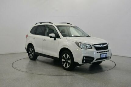 2017 Subaru Forester S4 MY17 2.5i-L CVT AWD White Pearl 6 Speed Constant Variable Wagon Victoria Park Victoria Park Area Preview