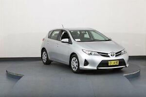 2014 Toyota Corolla ZRE182R Ascent Silver 7 Speed CVT Auto Sequential Hatchback Smithfield Parramatta Area Preview