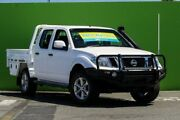 2014 Nissan Navara D40 S7 ST White 6 Speed Manual Utility Ringwood East Maroondah Area Preview