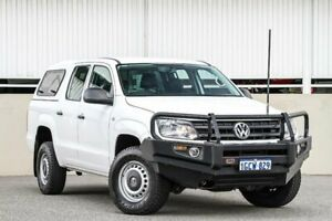 2016 Volkswagen Amarok 2H MY17 TDI420 4x2 White Automatic Utility Cannington Canning Area Preview