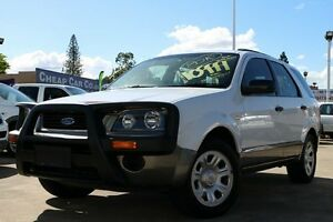 2005 Ford Territory SX TX AWD White 4 Speed Sports Automatic Wagon Greenslopes Brisbane South West Preview