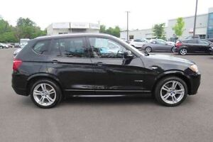 2013 BMW X3 35i XDrive, M package