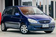 2006 Hyundai Getz TB MY06 Blue 5 Speed Manual Hatchback Pakenham Cardinia Area Preview