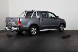 2006 Toyota Hilux GGN15R SR5 Grey 5 Speed Manual Dual Cab Pickup