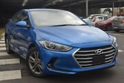2017 Hyundai Elantra AD MY17 Active Blue 6 Speed Sports Automatic Sedan Hoppers Crossing Wyndham Area Preview