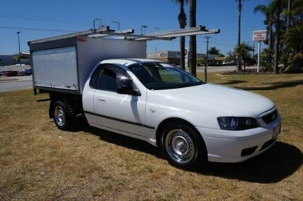 2006 Ford Falcon BF XL Super Cab White 4 Speed Automatic Cab Chassis Pearsall Wanneroo Area Preview